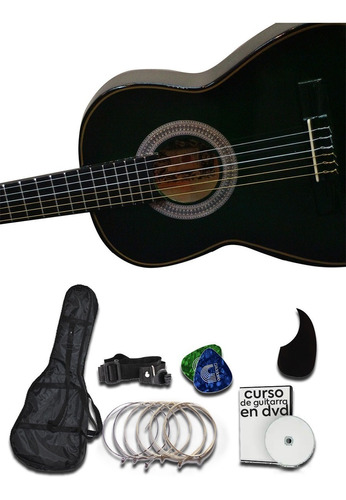 Guitarra Maple Laminado Accesorios De Regalo