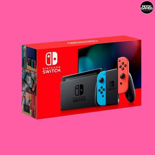 Nintendo Switch Neon - Novo Modelo - Maior Bateria