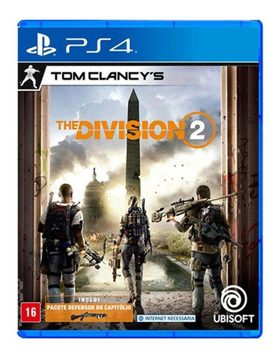 Jogo The Division 2 Para Ps4