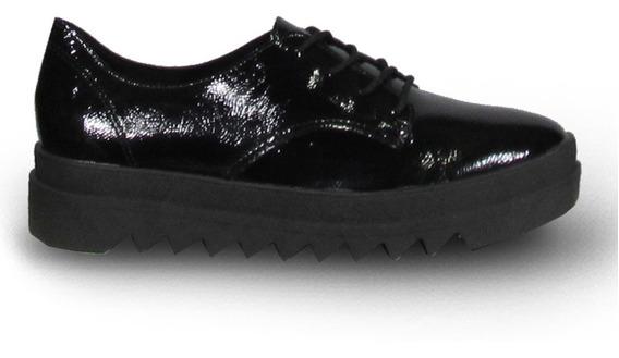 Beira Rio 421910 Zapato Acordonado Moda Mujer