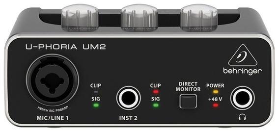 Interface Audio Behringer U Phoria Um 2