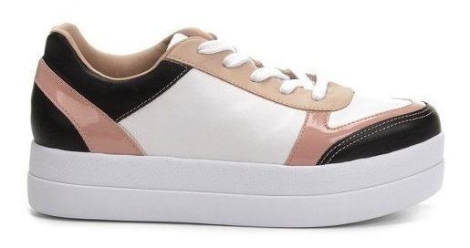 Tenis Bebece Flat Form Salto 4 Cm Cadarco - 2117564 Colors