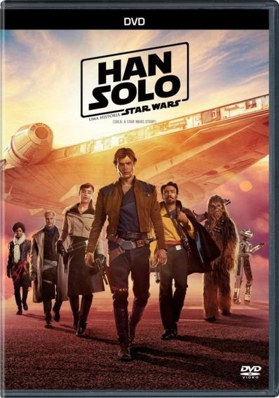 Han Solo Star Wars - Dvd Filme Ação