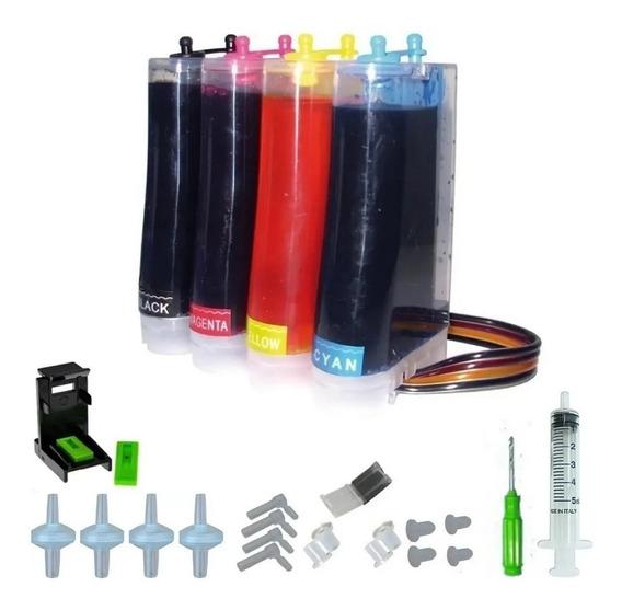 Sistema Continuo Para Hp 2135 - 2675 Con Tinta + Accesorios