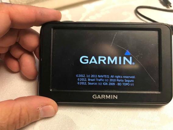 Gps Garmin Nuvi 40 C/ Risco Tela + Carregador Tudo Ok Show!