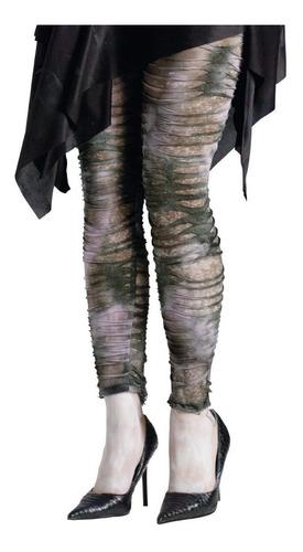 Imagen 1 de 2 de Medias Leggings Disfraz Zombie