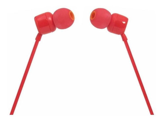 Fone de ouvido JBL 110 red