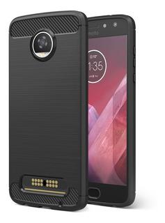 Funda Moko Para Motorola Moto Z2 Play Bumper Slim Fit-negro