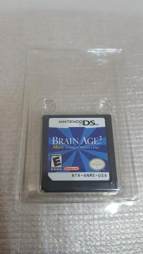 Juego Nintendo Ds Brain Age 2 Cartucho Fisico Original