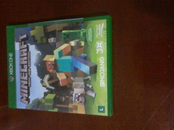 Jogo Minecraft Totalmente Em Português De Xbox One