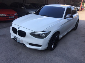 Bmw 116i 2012 Branca Rodas 17 Multimida Turbo Cambio Zf 8