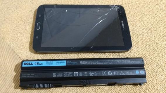 Tablet Samsung Galaxy Tab 3 + Bateria Original Notebook Dell