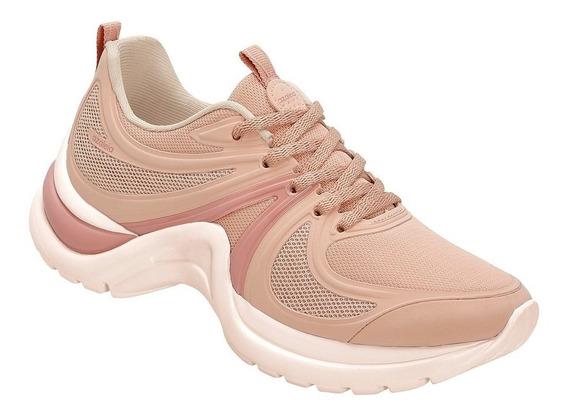 Tênis Feminino Azaleia Chunky Sneaker Sem Costura Rosa