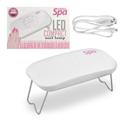 Mini Cabina Led Portatil 5w Compact Nail Lamp