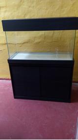 Aquario Com Movel 200 Lts 100x40x50 Vidro 6mm