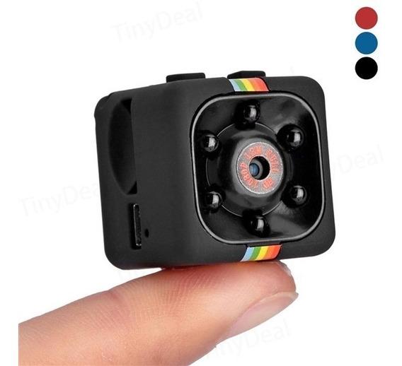 Mini Camera Espiã Captura De Audio E Video 1080p