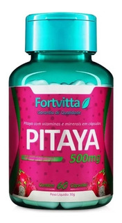 Pitaya 500mg 60caps Original Fortvitta