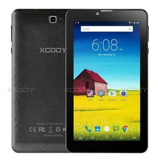 Black - 7,0 Pulgadas Quad Core Android Smart Phone 8.1 -3100