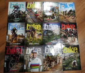 Lote 12 Revistas Bike Action 2018 Janeiro A Dezembro -usadas