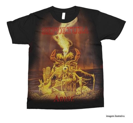 Camiseta Sepultura - Arise / Personalizada