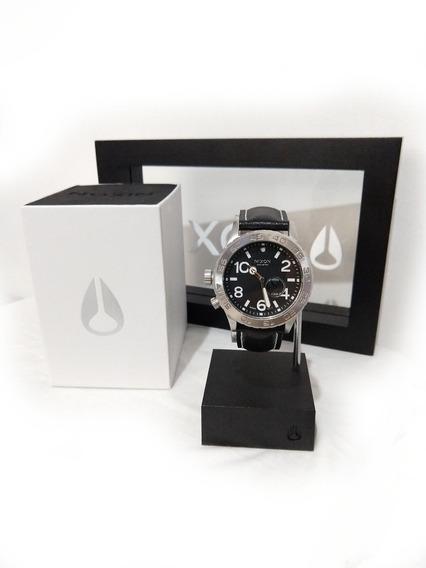 Relógio Nixon 42-20 Tide Leather Maré 200m Moviment Swiss