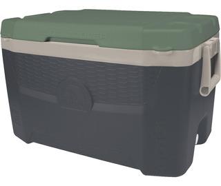 Caixa Térmica 52 L Cooler Cerveja Igloo Preto E Verde 55 Qt