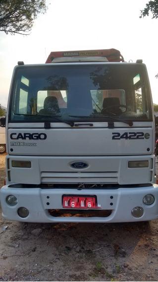 Ford Cargo 2422e Com Munck Madal 45 Ton