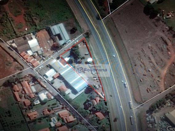 Terreno Comercial Para Locação, Santa Terezinha, Paulínia. - Te0530