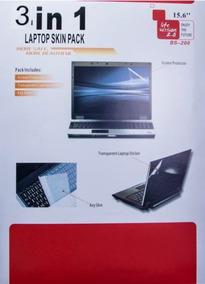 Mica 3 En 1 Laptop Portatil Protector Pantalla Teclado Atras