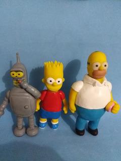 Esculturas Figuras Futurama Y Simpson