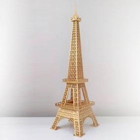 Torre Eiffel De 150cm Fibro Facil Envio Gratis