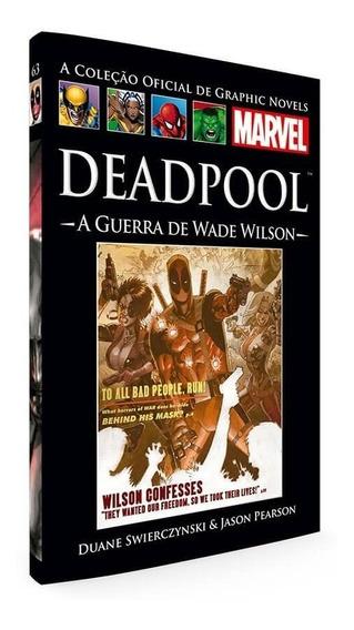 Deadpool A Guerra De Wade Wilson Marvel Salvat 63 Mercenário