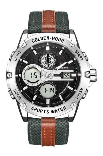 Relógio Moda Esportes Ao Ar Livre Analógico Digital À Pro
