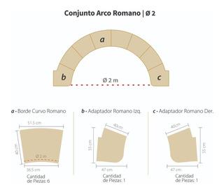 Conjunto Arco Romano Para Piscinas Y Piletas Diámetro 2