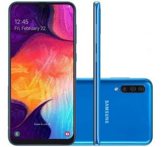 Celular Samsung Galaxy A50 Dual 64gb 4gb Ram A505 Azul