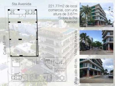 Local Comercial En Venta, Ubicado En Playa Del Carmen 5ta. Av. Con Retorno De Inversión. Macondo