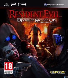 Resident Evil Operation Racoon City Ps3 Digital