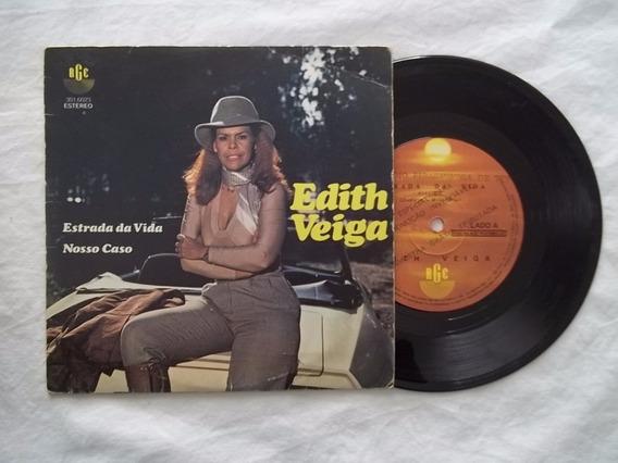 Vinil Compacto Ep - Edith Veiga - Estrada Da Vida - Mpb