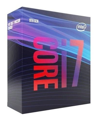 Procesador Intel Core I7-9700, 8 Nucleos, Hasta 4.7 Ghz