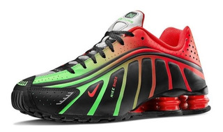 Nike Shox (edicion Neymar Jr Black/challenge Red)26 Cm A Msi