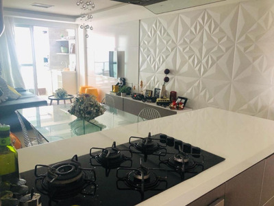 Apartamento Em Jardim Oceania, João Pessoa/pb De 73m² 3 Quartos À Venda Por R$ 390.000,00 - Ap211534