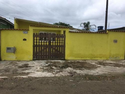Casa Com 1 Dormitório, Lado Praia, Itanhaém-sp - 5264/p
