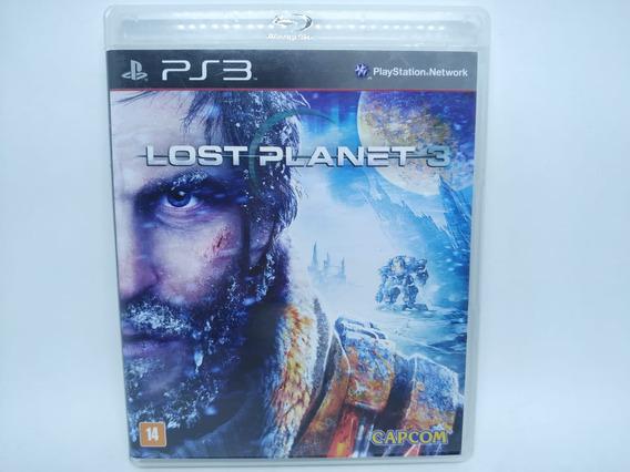 Lost Planet 3 Original Playstation 3 Ps3 Mídia Física Usado
