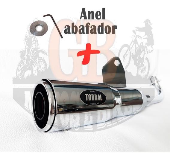 Escap Torbal Nano Baby Cromado Fan 125 2009 A 2014 + Abaf