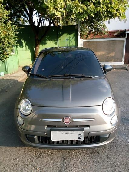 Fiat 500 2012 Único Dono Com Manual/chave Reserva Revisado
