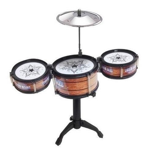 Mini Bateria Musical Infantil Jazz Drum Promoção Lançamento