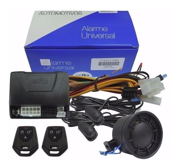 Alarme Automotivo Fks Universal Fk902 Sb Plus Completo