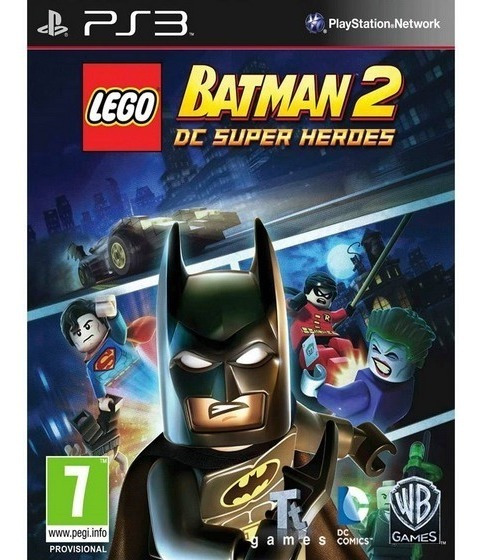 Lego Batman 2 Ps3 Psn