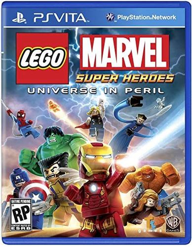 Ps Vita Lego Marvel Superheroes Juego Fisico Nuevo Sellado