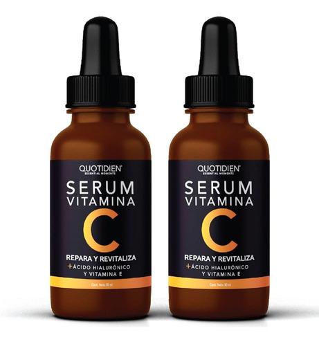 Imagen 1 de 7 de 2 X Serum Vitamina C + Ácido Hialurónico + Vitamina E